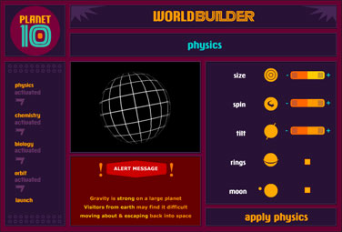 Planet 10 World Builder