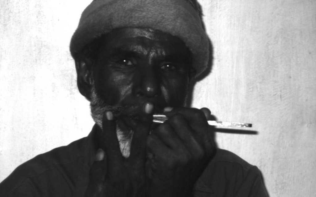 Morchang (Jew's Harp) player
